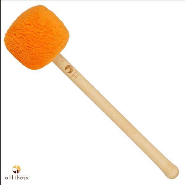 Der Profi Gong Mallet L40 in der Farbe orange