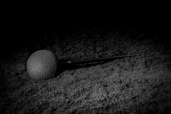 Naturkautschuk Gongreiber in der Lava Edition 50mm